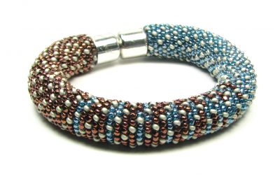 Gradient Double Crochet Bracelet