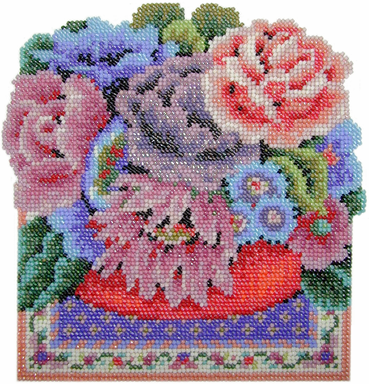 Beaded Needlepoint Tutorials And Designs Beads East