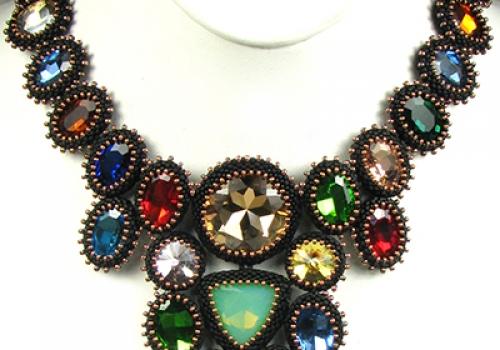 Black Beauty Necklace Kit